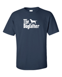the dogfather labrador tshirt - navy