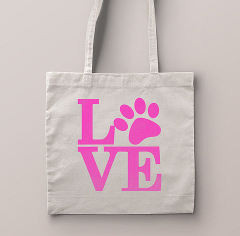Dog Lovers Tote Bag - Natural
