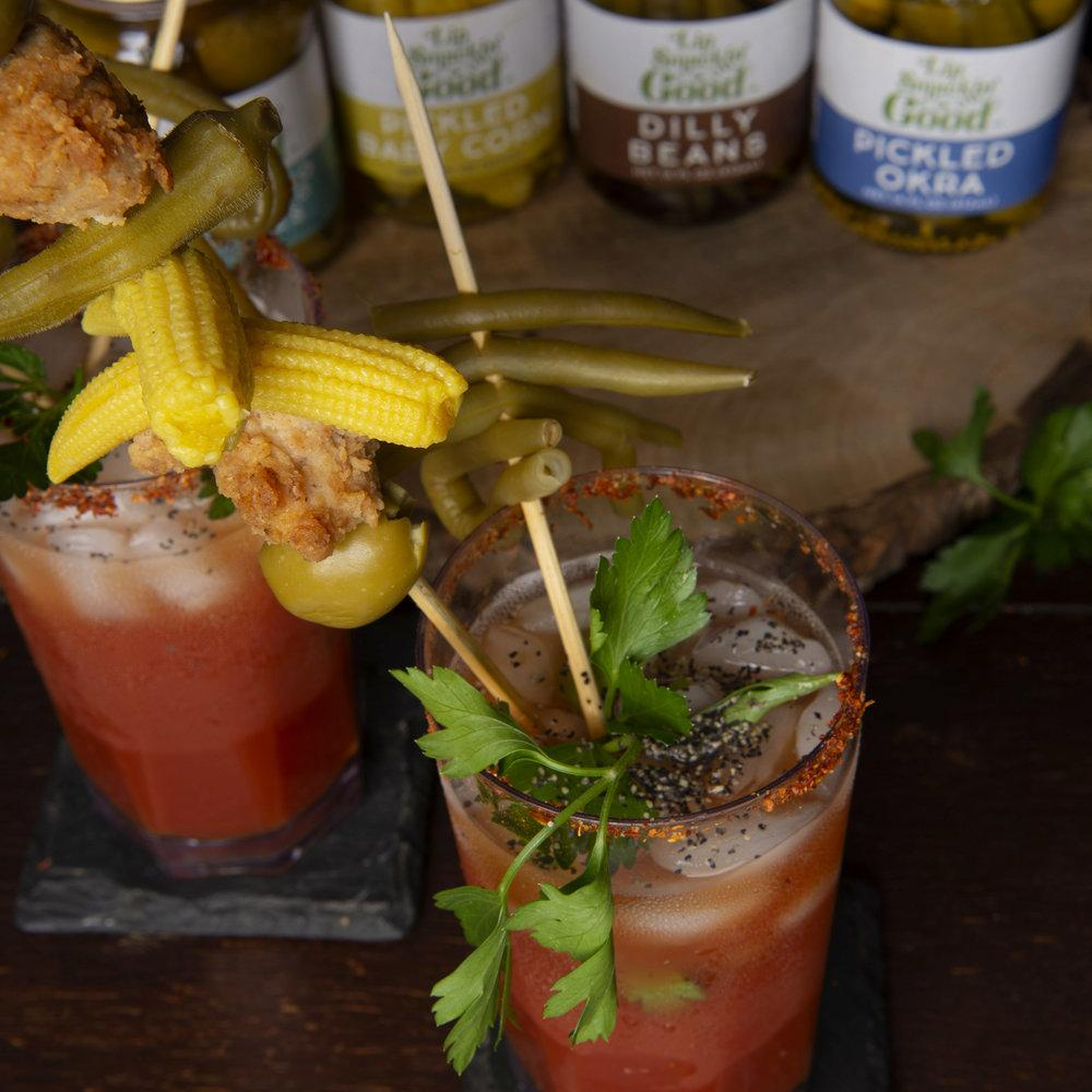 How to Make a Southern Bloody Mary Bar - Lip Smackin' Good