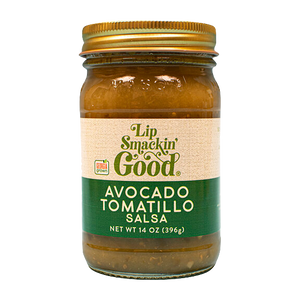 Avocado Tomatillo Salsa - Lip Smackin' Good