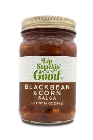 Black Bean & Corn Salsa- Lip Smackin Good