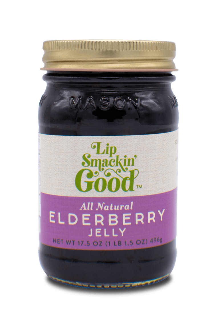 Elderberry Jelly- Lip Smackin' Good