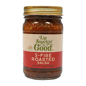 5-Fire Roasted Pepper Salsa - Lip Smackin' Good