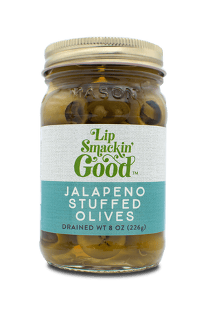 Jalapeño Stuffed Olives - Lip Smackin' Good