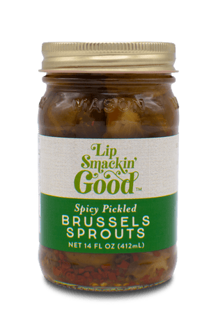 Pickled Brussles Sprouts - Lip Smackin' Good