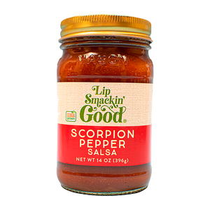Scorpion Pepper Salsa - Lip Smackin' Good