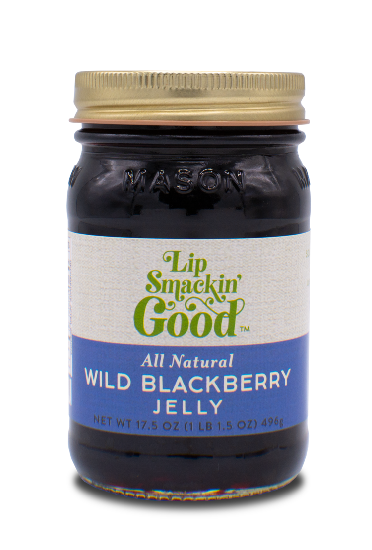 Wild Blackberry Jelly - Lip Smackin' Good