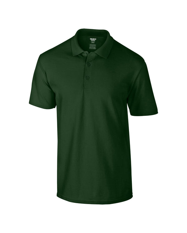 Dryblend Adult Piqué Polo Shirt Workwear from Gildan branded with your logo or Design by York Workwear promoting you and your business