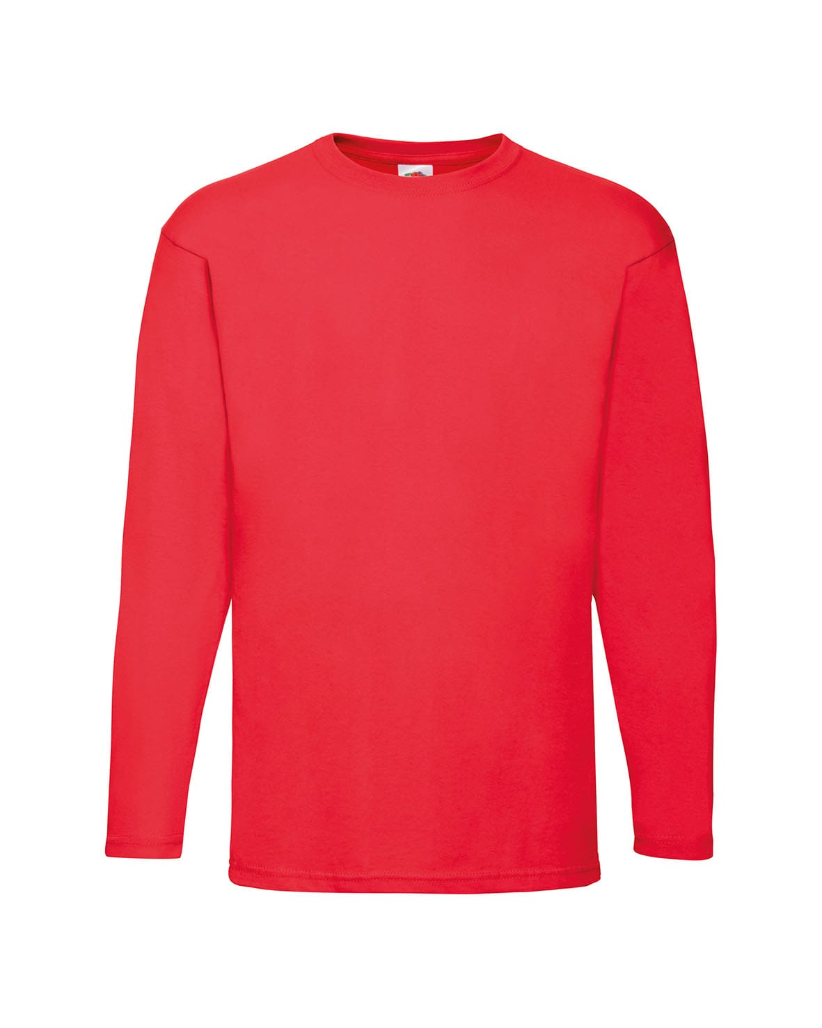 3-Colour Fruit Of The Loom Lady-Fit Valueweight Long Sleeve T-Shirt