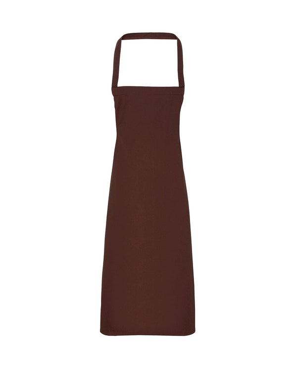 Cotton Bib Apron Workwear from Premier branded with your logo or Design by York Workwear promoting you and your business
