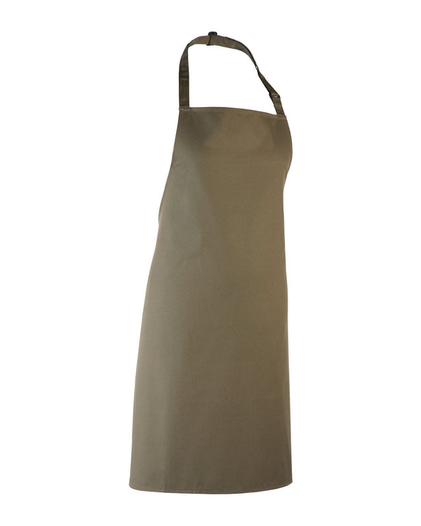 Colours Collection Bib Apron Workwear from Premier branded with your logo or Design by York Workwear promoting you and your business