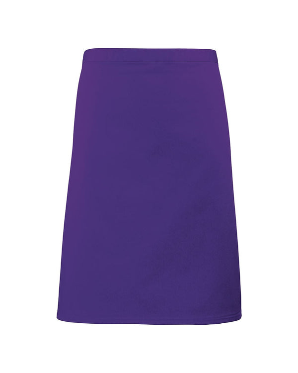Colours Collection Waist Apron Workwear from Premier branded with your logo or Design by York Workwear promoting you and your business