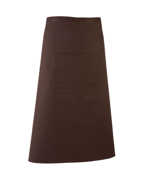 Colours Bar Apron Workwear from Premier branded with your logo or Design by York Workwear promoting you and your business