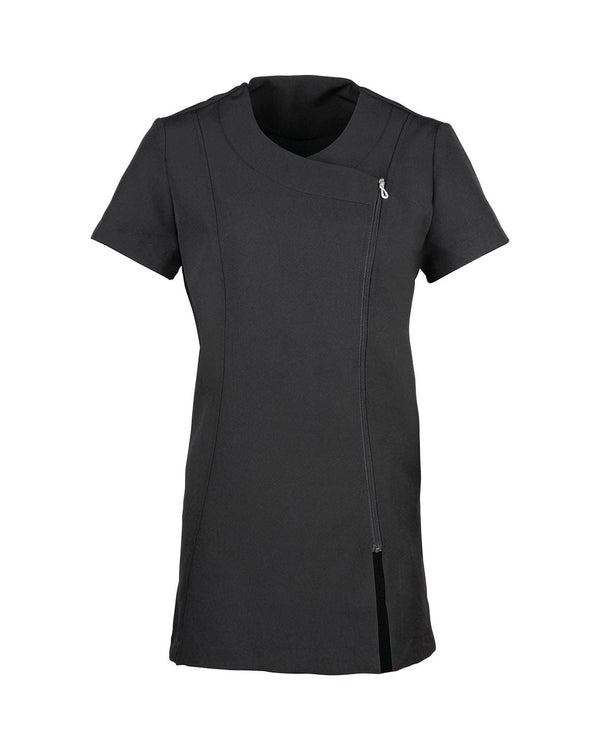 Camellia Beauty and Spa Tunic Workwear from Premier branded with your logo or Design by York Workwear promoting you and your business