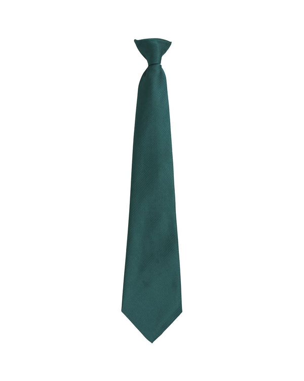 Colours Fashion Clip Tie Workwear from Premier branded with your logo or Design by York Workwear promoting you and your business