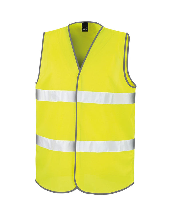 Core Motorist Safety Vest Workwear from Result branded with your logo or Design by York Workwear promoting you and your business