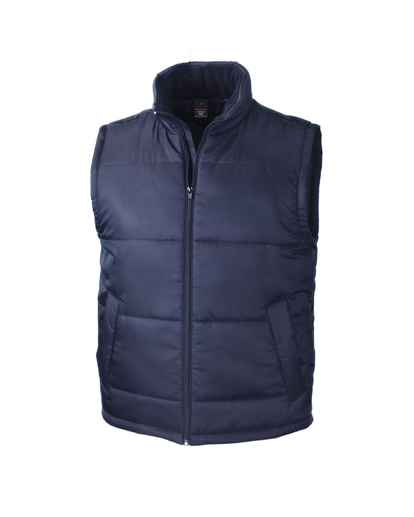 Core Bodywarmer Workwear from Result branded with your logo or Design by York Workwear promoting you and your business