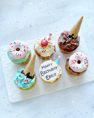 [Cupcake] - Birthday set