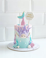 Perhaps A Cake - Swimming Mermaid