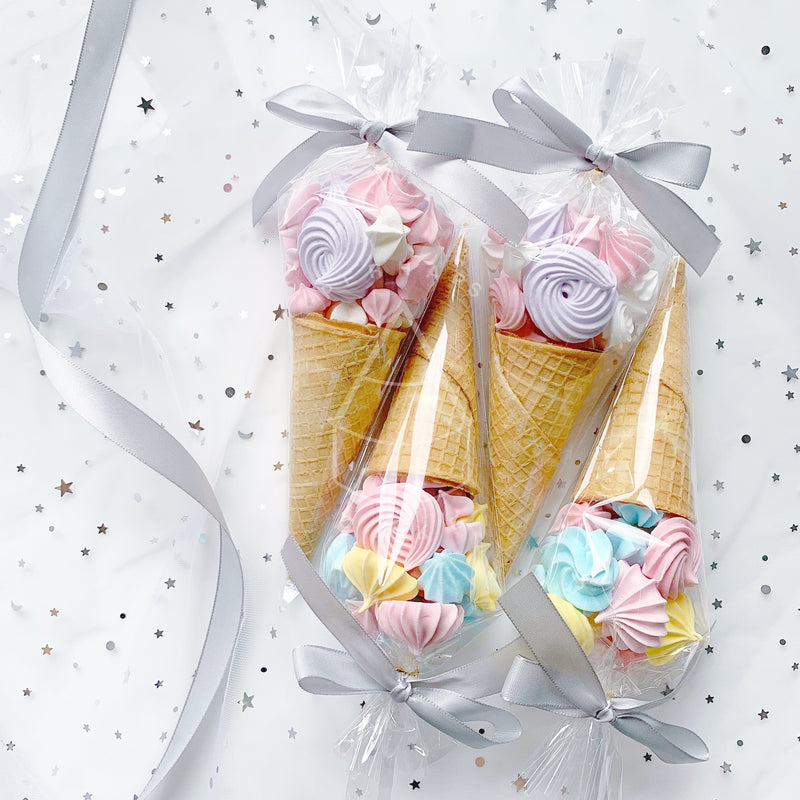 [Meringue Cookie] - Cone set (12 pcs)