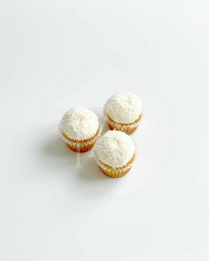 Perhaps A Cake - Mini Cupcake - Coconut Rum Dried Fruit