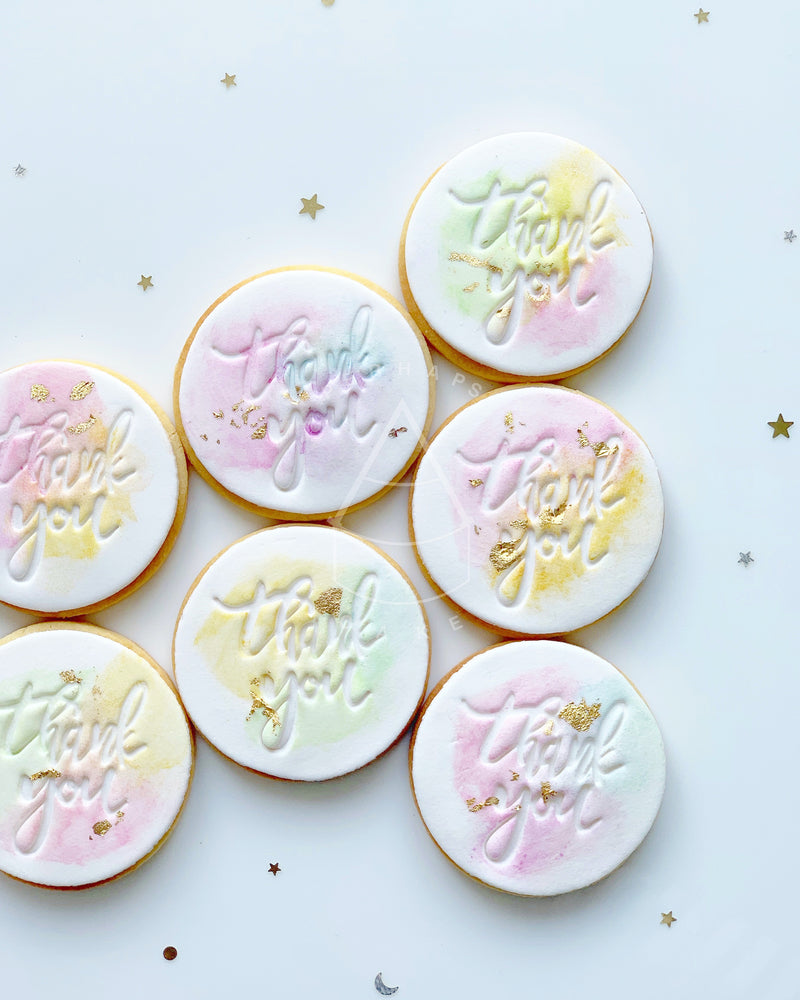 [Cookie] - Watercolor set (12pcs)
