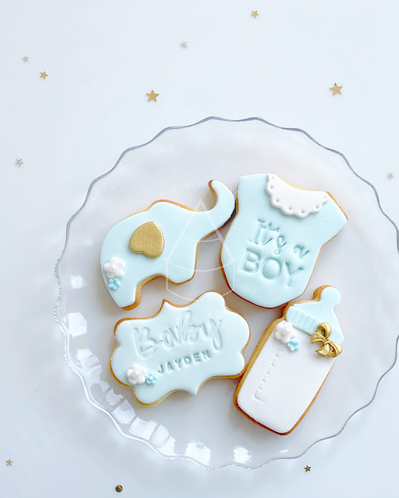 [Cookie] - Baby shower set (12pcs)