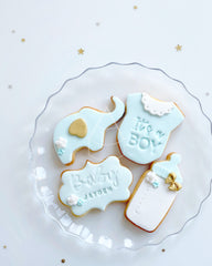 [Cookie] - Baby shower set (4pcs)