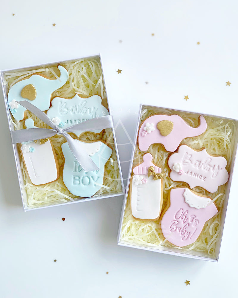 Perhaps A Cake - Cookie - Baby shower set