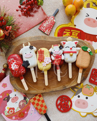 [Cake popsicle] - Year of Ox set