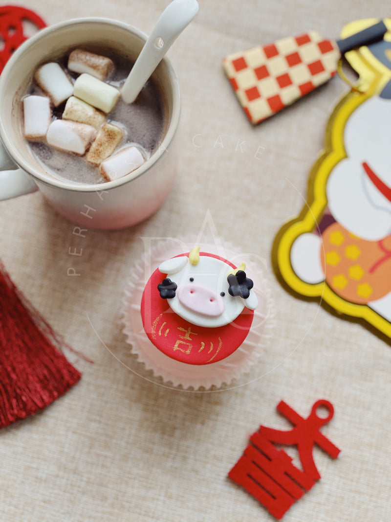 [Hot Chocolate Bomb] Ox Daruma