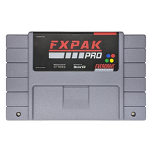 Krikzz FXPAK PRO North American Shell edition Gray Cartridge for Super Nintendo SNES