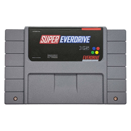 Krikzz Super Everdrive X5 North American Shell edition Gray Cartridge for Super Nintendo SNES