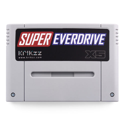 Krikzz Super Everdrive X5 Light Gray Cartridge for Super Nintendo Famicom and Super Nintendo SNES