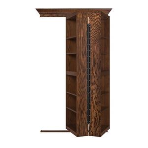 Bi-Folding Bookcase Hidden Door - Murphy Door