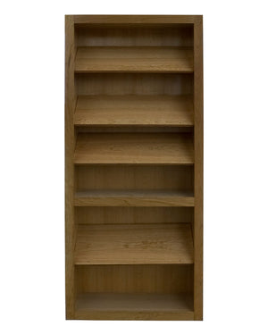 "36""x80"" Cherry Shoe Rack Door - Murphy Door"
