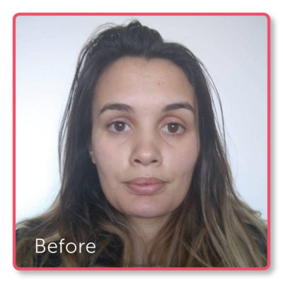 Emma's 6 week challenge results - before