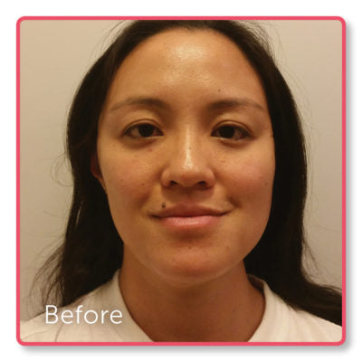 Lian's 6 week challenge results - before