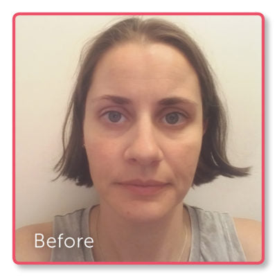 Veronica's 6 week challenge results - before