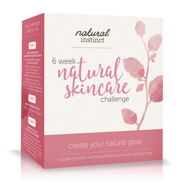 6 Week Natural Skincare Challenge Pack