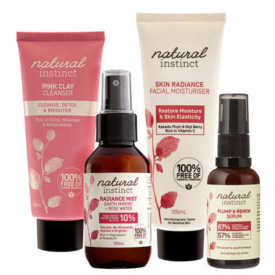 Natural Instinct 6 Week Natural Skincare Challenge Pack