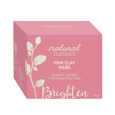 Natural Instinct Pink Clay Mask
