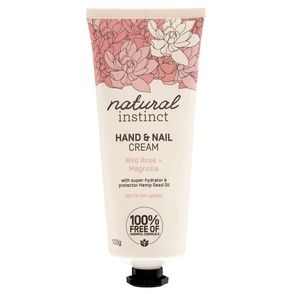 Natural Instinct Wild Rose + Magnolia Hand Nail Cream