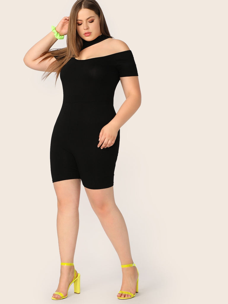 Call Me Crazy Romper - Black - Keturah Monae Fashion