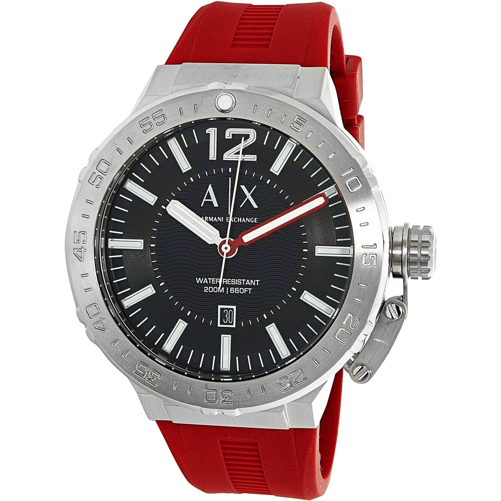 Armani Redband Watch - Red - Keturah Monae Fashion