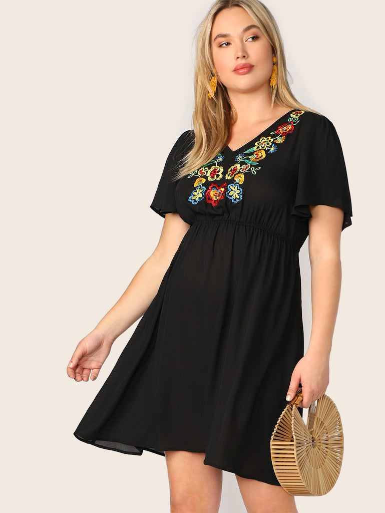 I'm In Control Dress - Black - Keturah Monae Fashion