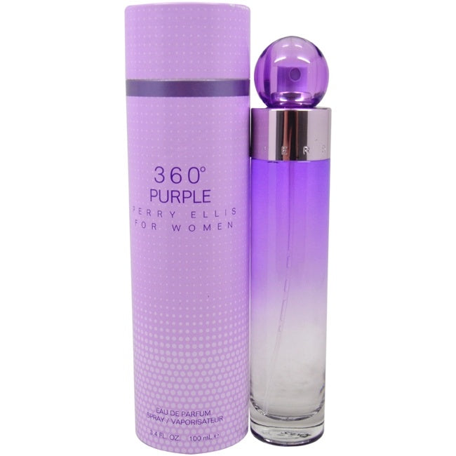 360 Purple by Perry Ellis for Women - 3.4 oz EDP Spray - Keturah Monae Fashion