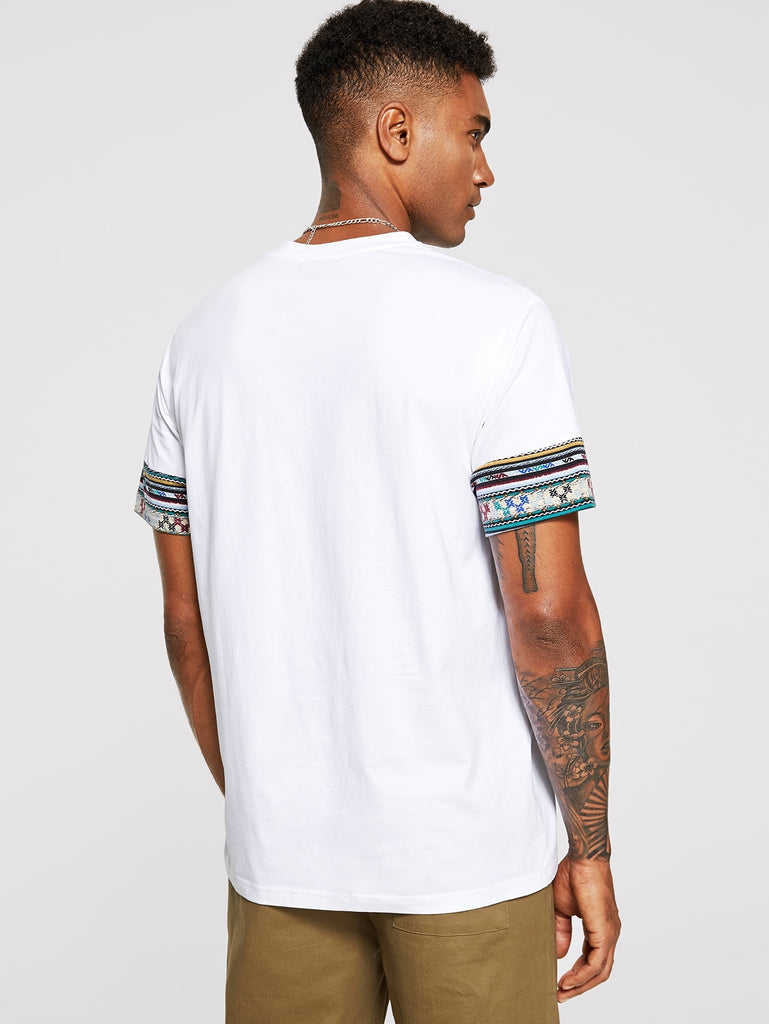 Men Round Neck Tribal Tee - Keturah Monae Fashion