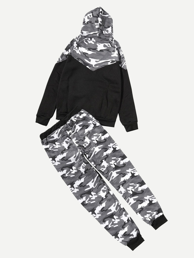 In The Clear With Drawstring Pants -Black/White - Keturah Monae Fashion