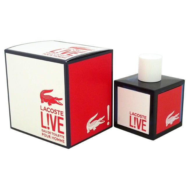 Lacoste Live by Lacoste for Men - 3.3 oz EDT Spray - Keturah Monae Fashion